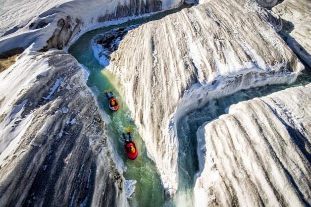 Grupo inova e pratica hydrospeeding na maior geleira dos Alpes - image 5