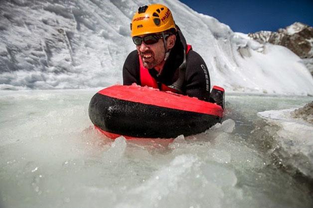Grupo inova e pratica hydrospeeding na maior geleira dos Alpes - image 2