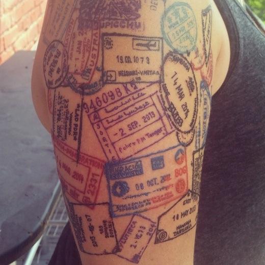 Ideias para te inspirares na tua próxima tatuagem de viagem - image 8