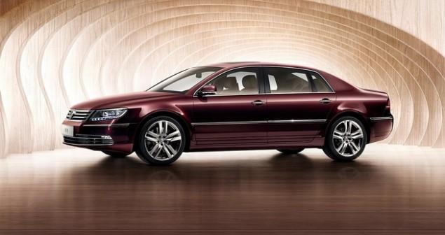 Volkswagen apresenta o seu Phaeton facelifted na China! - image 2