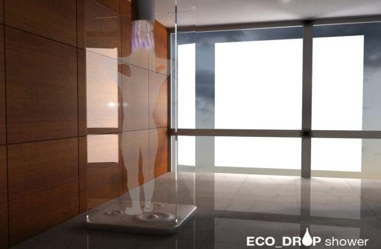 Designer cria chuveiro que te obriga a sair quando já desperdiçaste muita água - image 2