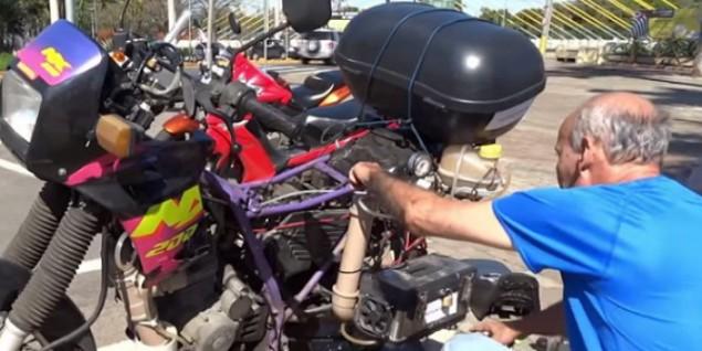 Ele inventou uma moto capaz de percorrer até 500Km com apenas 1 litro de água!!! - image 4