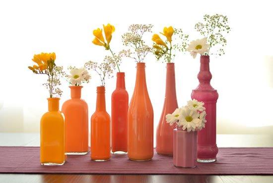 8 ideias para reutilizares garrafas de vidro na decoração - image 2