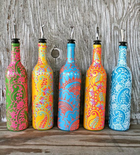 8 ideias para reutilizares garrafas de vidro na decoração - image 3