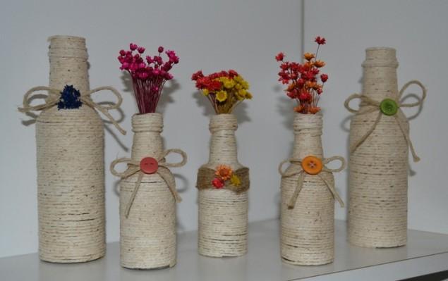 8 ideias para reutilizares garrafas de vidro na decoração - image 5