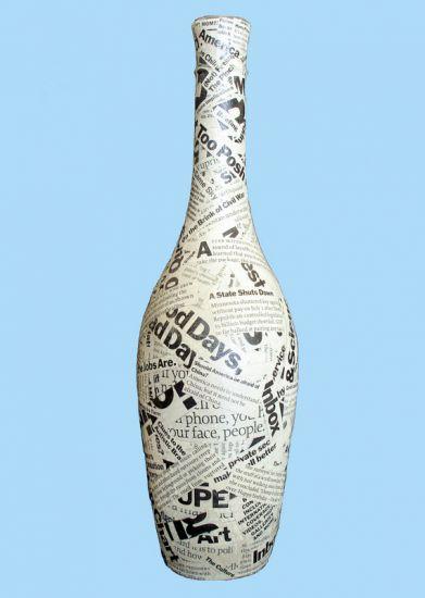 8 ideias para reutilizares garrafas de vidro na decoração - image 8