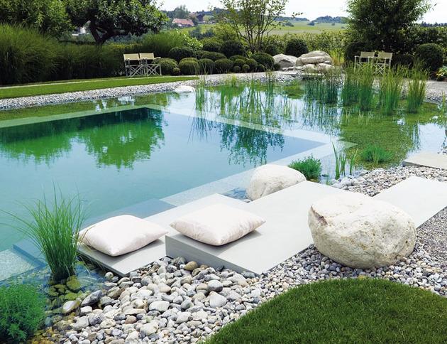 Inovadoras e sustentáveis piscinas biológicas que trocam o cloro por plantas - image 2