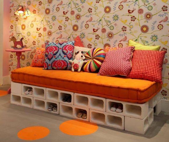 Como fazer decoração e móveis com blocos de cimento? - image 3
