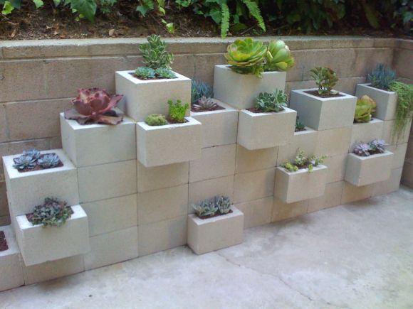 Como fazer decoração e móveis com blocos de cimento? - image 5