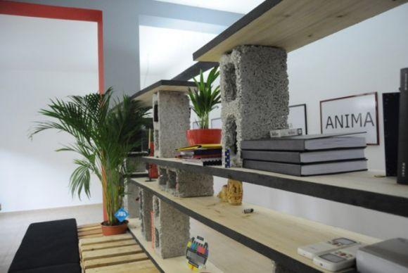 Como fazer decoração e móveis com blocos de cimento? - image 6