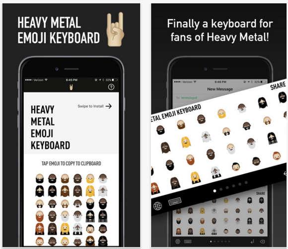 Chegaram os emojis para fãs de Heavy Metal. - image 3
