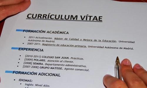 Aprende a fazer um bom curriculum vitae. - image 3