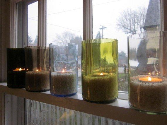 Ideias charmosas para reciclares  garrafas de vidro que nem imaginavas! - image 2