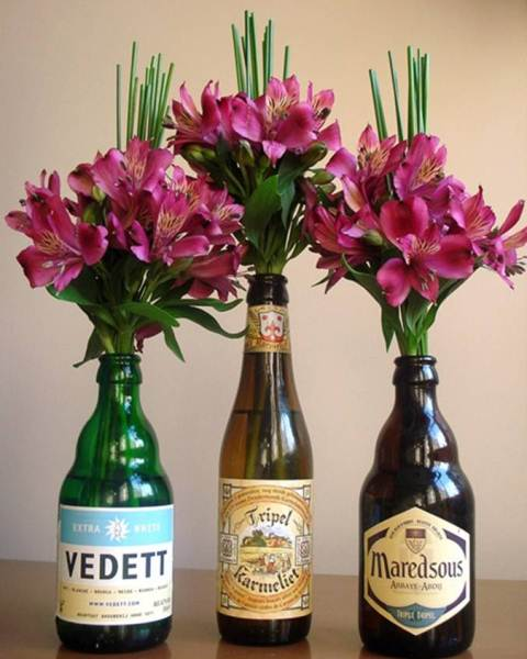 Ideias charmosas para reciclares  garrafas de vidro que nem imaginavas! - image 6