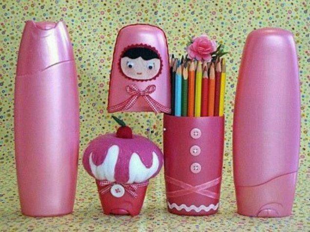 Ideias de artesanato com embalagem de shampoo - image 2