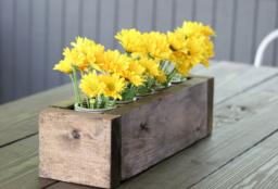 Recicla e decorra a tua casa com sobras de madeira