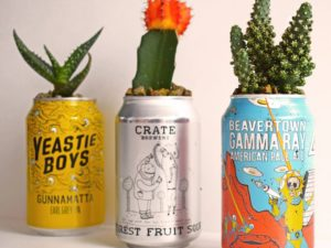 Oito dicas geniais de artesanato com latas de alumínio