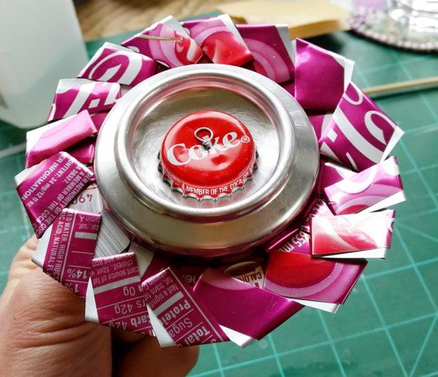 Oito dicas geniais de artesanato com latas de alumínio - image 6