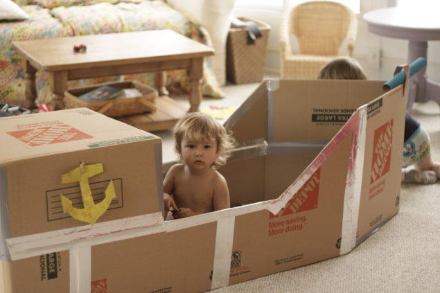 Dicas para reutilizares  o papelão para a diversão das crianças - image 6
