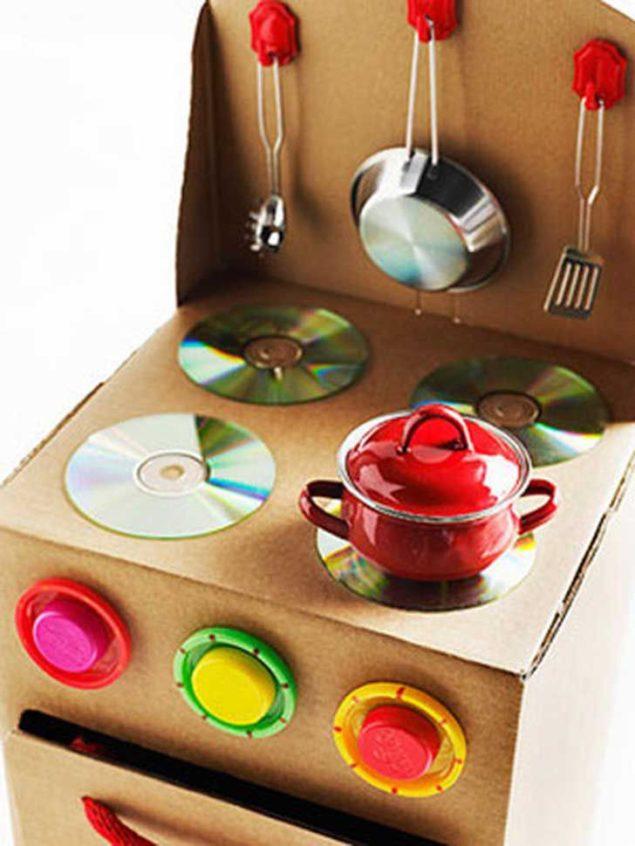 Dicas para reutilizares  o papelão para a diversão das crianças - image 9