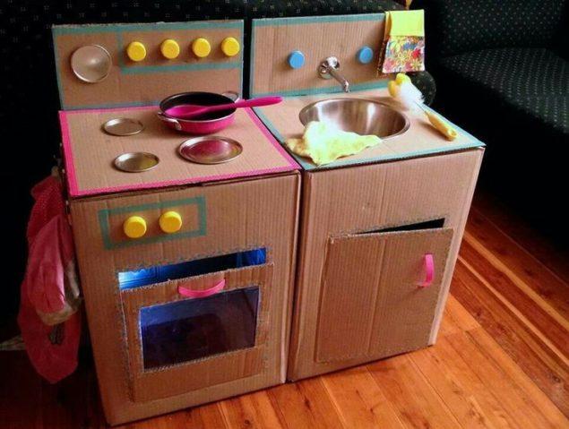 Dicas para reutilizares  o papelão para a diversão das crianças - image 8