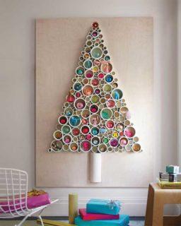 10 árvores de Natal diferentes, económicas e originais