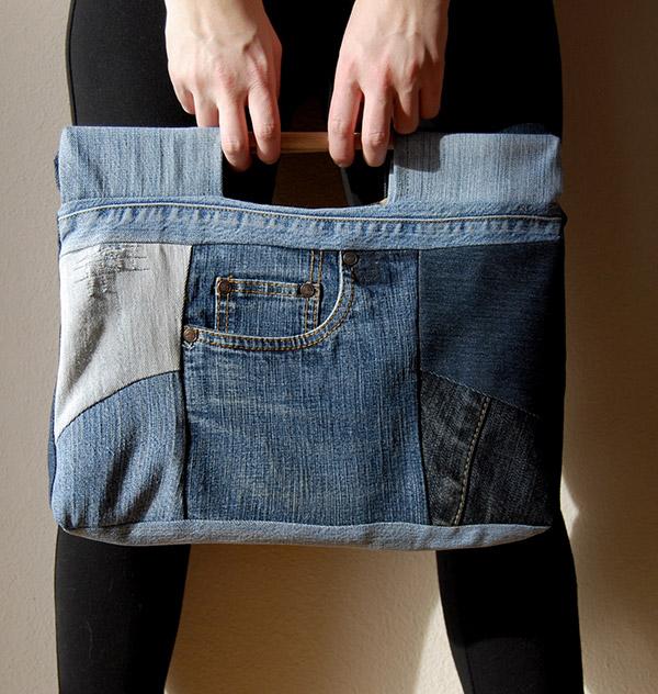 10 boas ideias para reutilizares calças jeans! - image 2