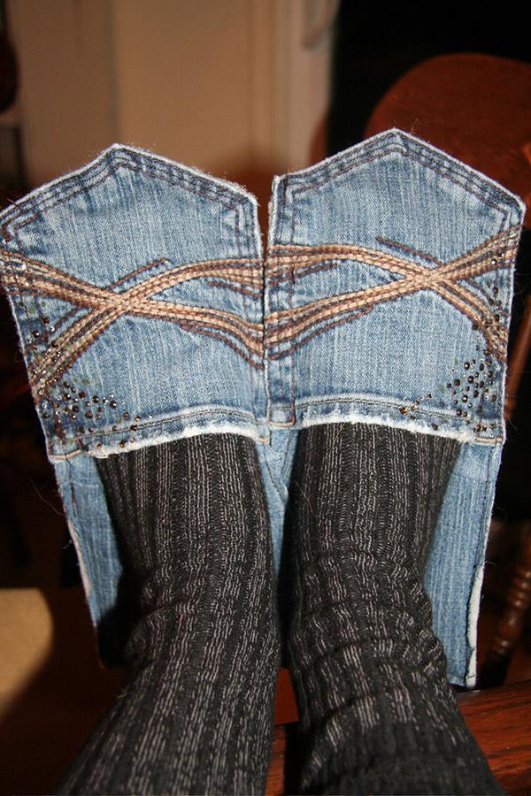 10 boas ideias para reutilizares calças jeans! - image 3