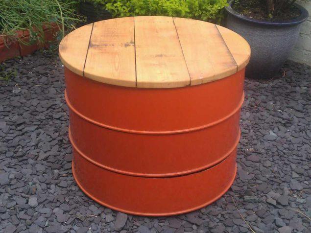 Sete ideias para reciclares tambores de metal - image 2