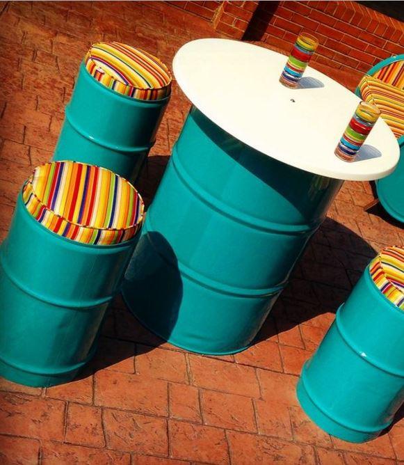 Sete ideias para reciclares tambores de metal - image 4