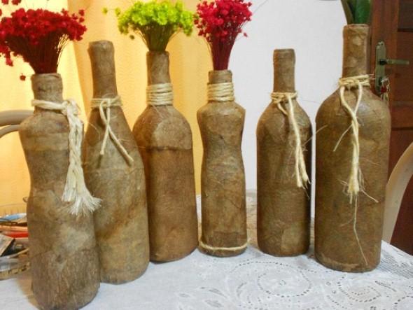 Decoração de final de ano com garrafas de vidro - image 3