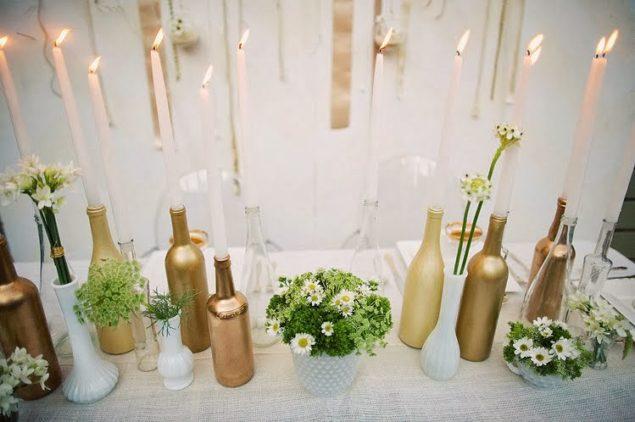 Decoração de final de ano com garrafas de vidro - image 4