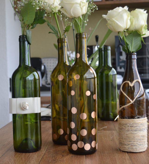 Decoração de final de ano com garrafas de vidro - image 5
