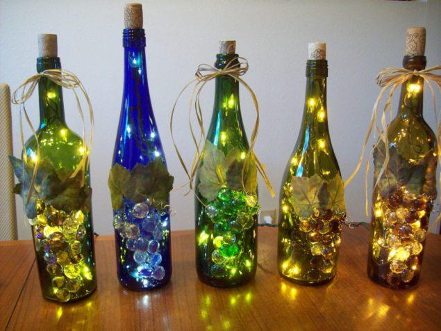 Decoração de final de ano com garrafas de vidro - image 7